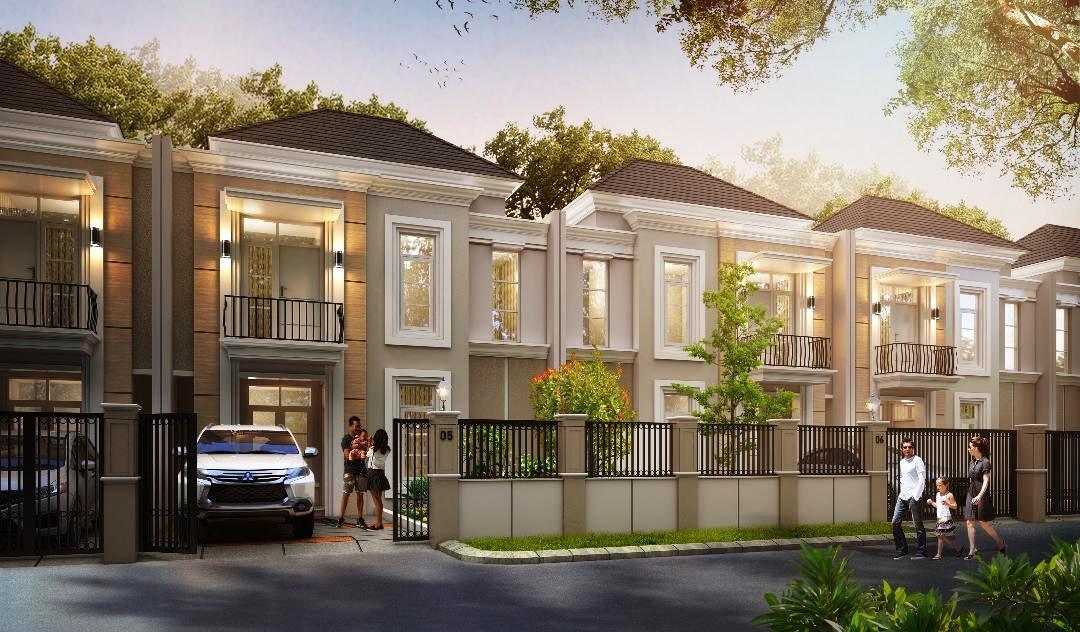 Rumah tipe 78-160 Cluster Valencia - Balikpapan Regency