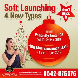 Softlaunching 4 tipe baru
