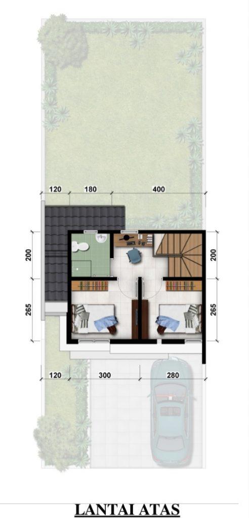 lantai 2 type 60