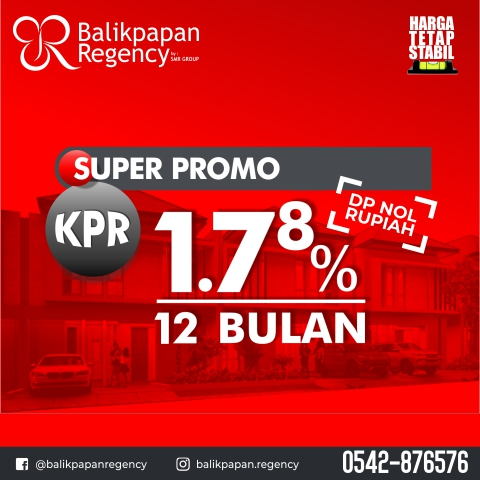 KPR 1,78% fix 12 bulan