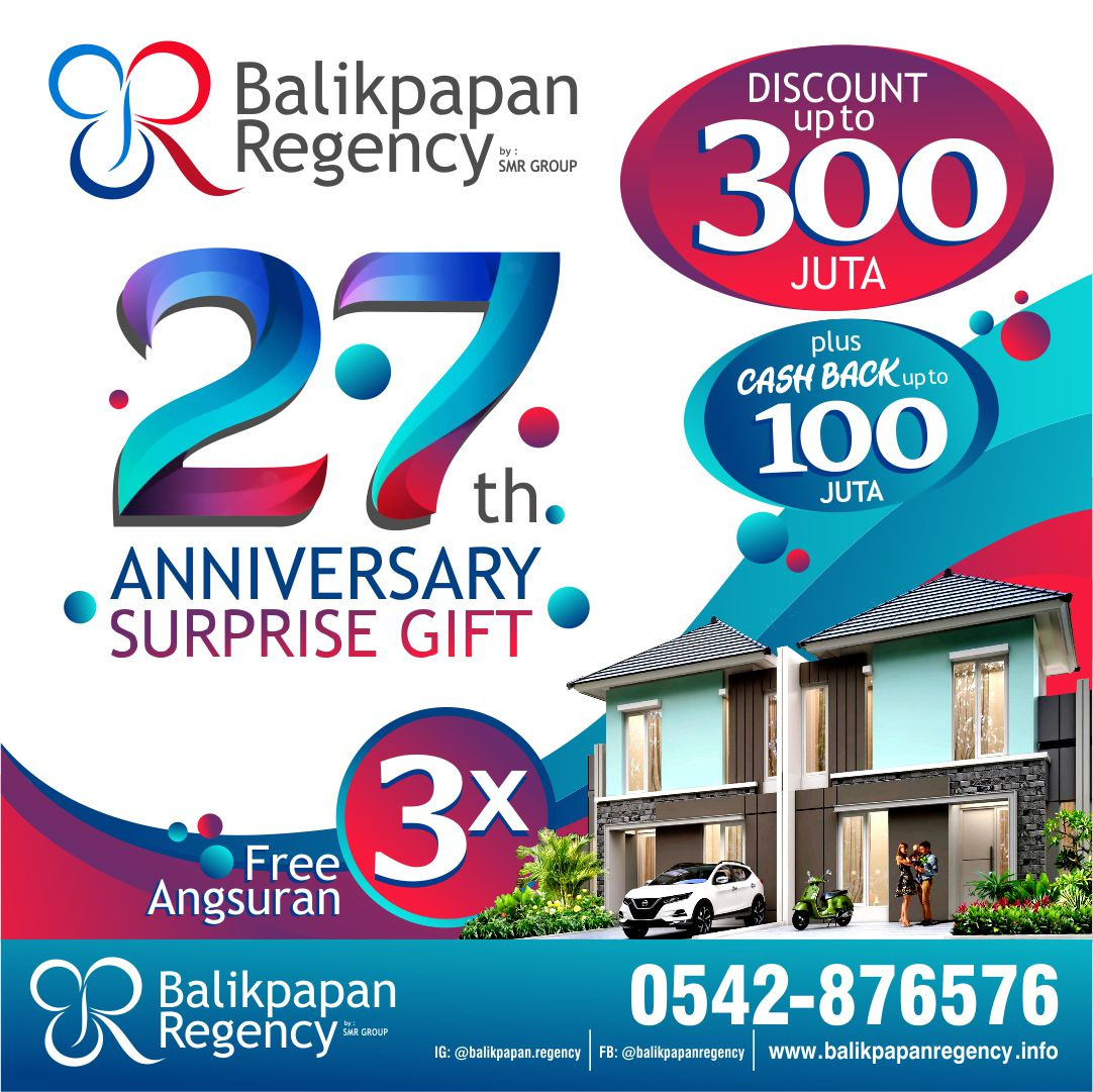 HUT Balikpapan Regency 27 tahun